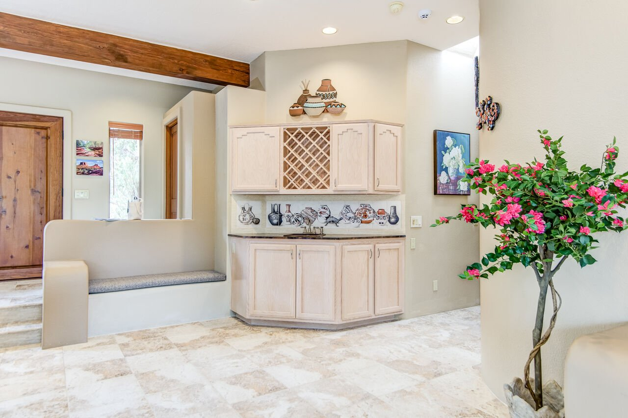 Wet Bar and Wine Rack