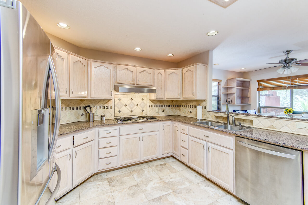 Plenty of Counter Space and Cabinets