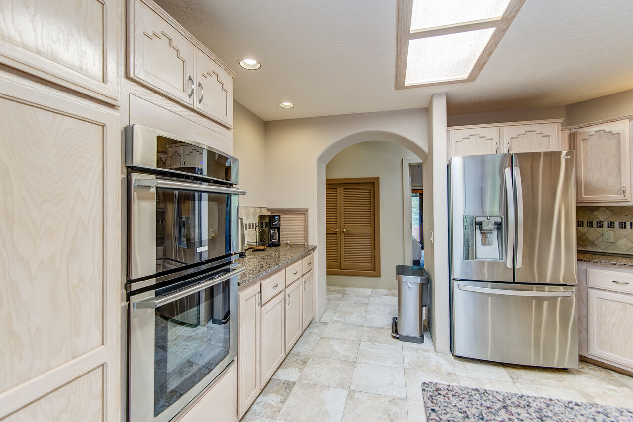 Stainless Steel Appliances Including Double Ovens