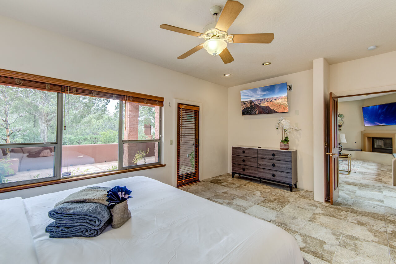 Grand Master Bedroom and Bath