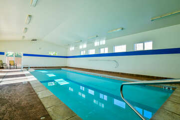 Picture of the Shared Indoor Pool.