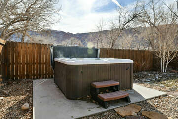 The Hot Tub of Our Condo.