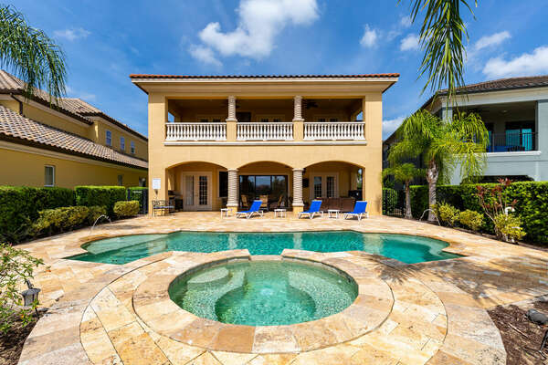 Enjoy the Florida sun in your own private pool