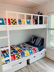 Custom bunk bed the kids will love