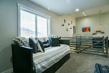 Loft with daybed