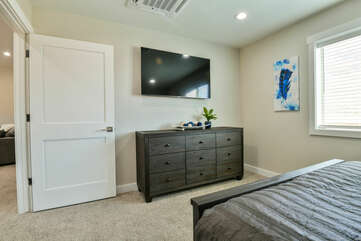 Third bedroom with bunkbed