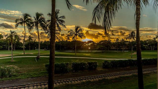 Sunset from You Lanai