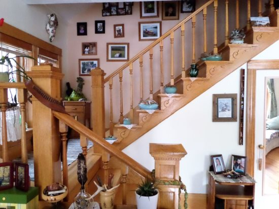 Staircase Leading to Guest Bedrooms