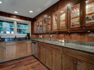 Wet Bar off the Den