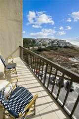 Second level balcony view