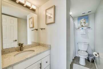 Master bathroom (shower/tub)