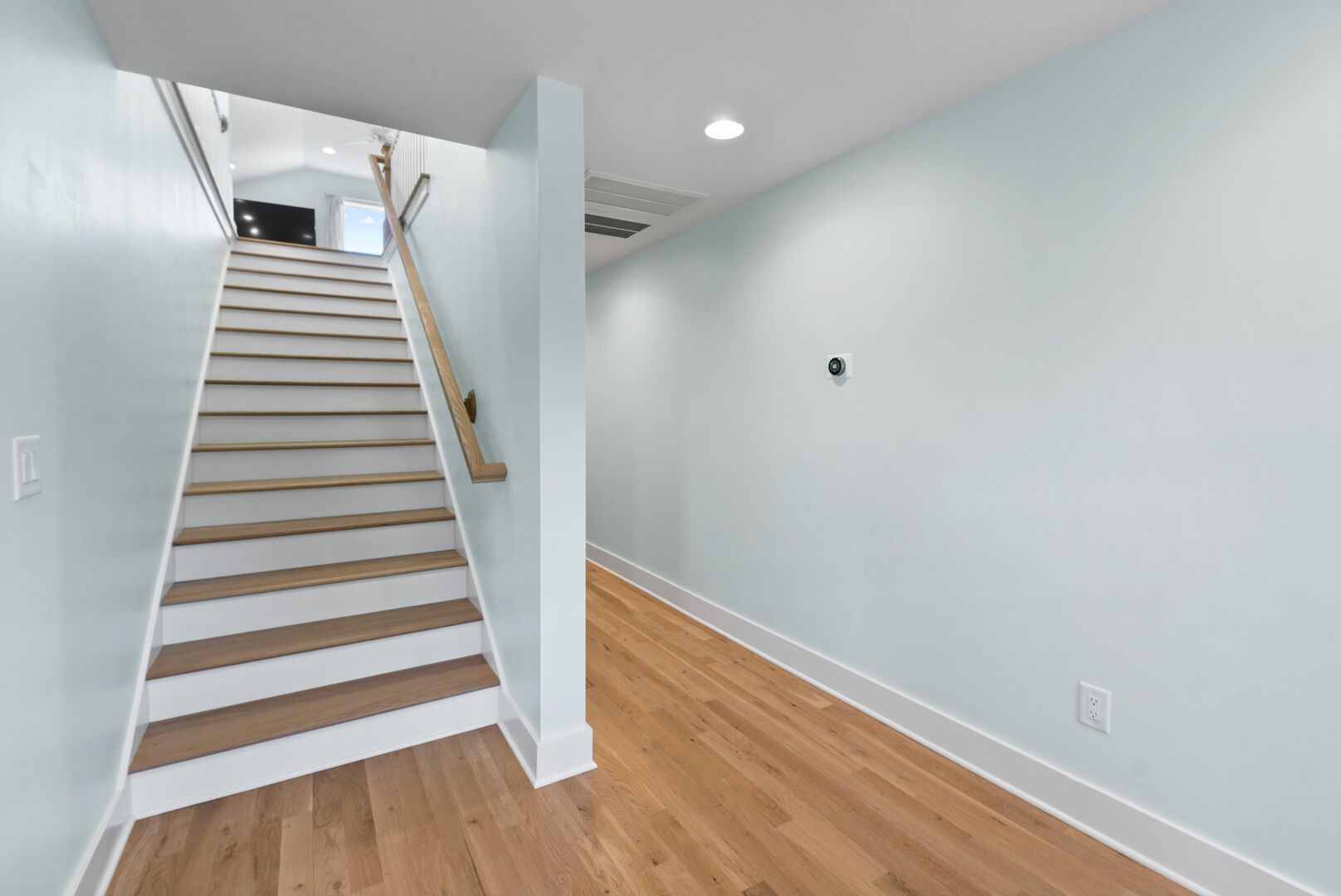 Stairs Leading to Third Floor