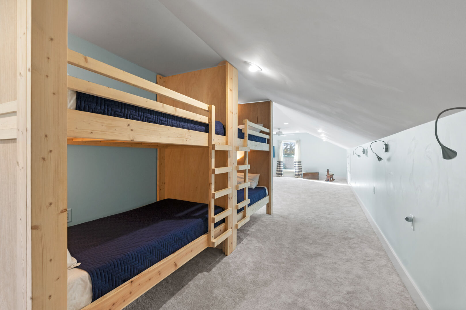 2 Sets of Bunk Twin Bunks and 2 Sets of XL Twin Bunks - Third Floor