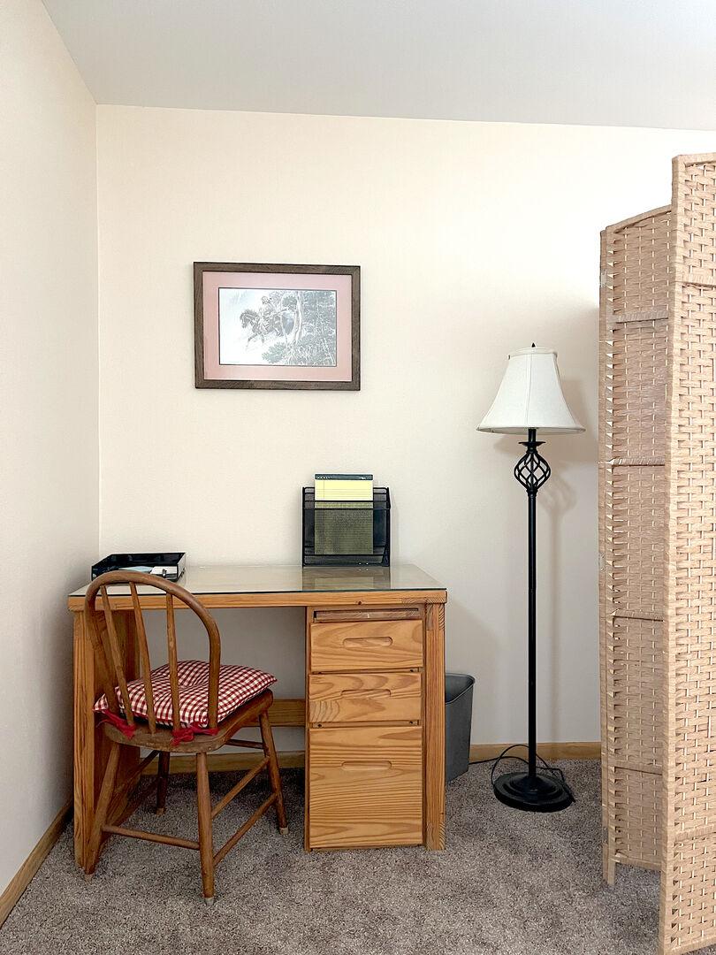 Quaint Desk Area