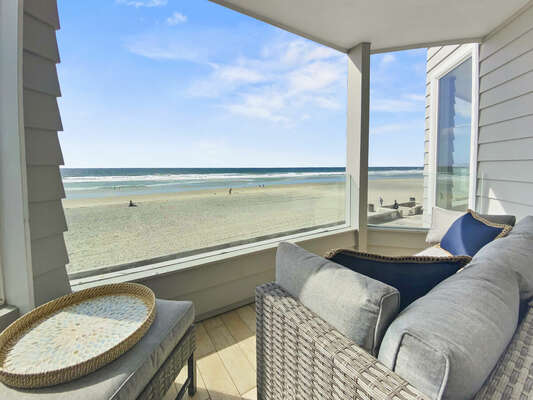 Oceanfront Condo with Multiple West Facing Decks