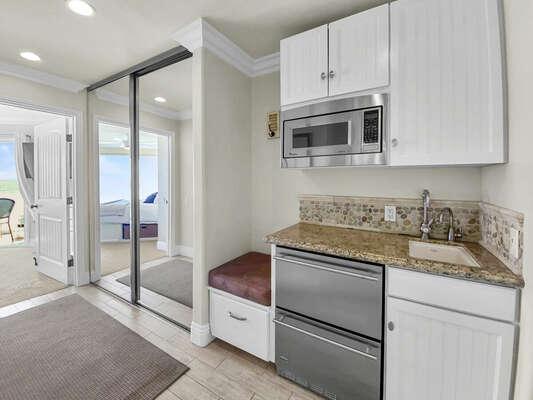 Hallway Kitchenette - Third Floor