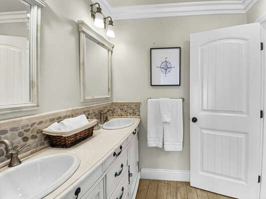 Full Bath - Third Floor