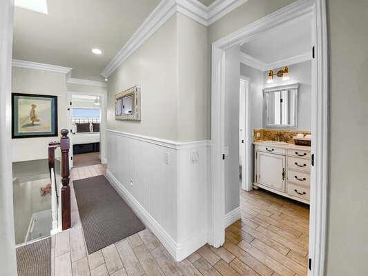 Hallway to Guest Bedroom - Third Floor