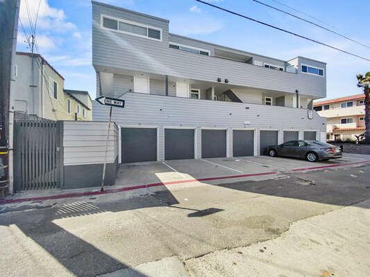 Back of Complex - 1 Exterior Parking Spot + 1 Garage