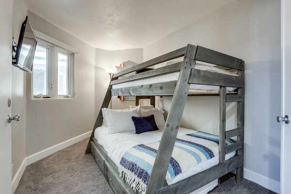 Bunk Room, Full/Twin Bunk + Twin Trundle - Second Floor