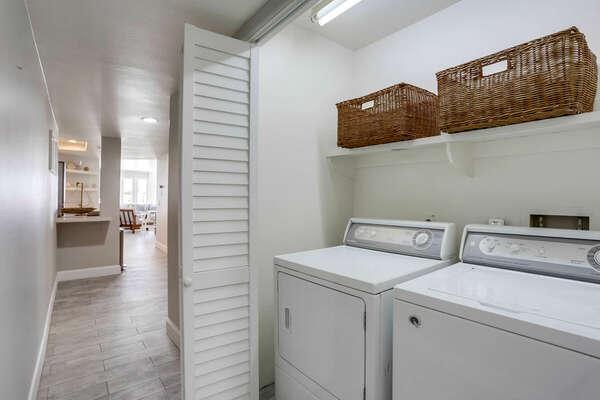 In-Unit Washer/Dryer - Second Floor