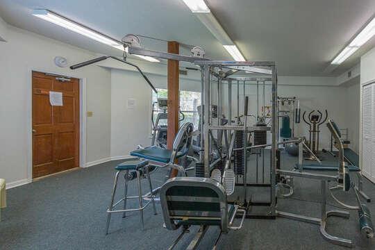 Harbour Oaks community fitness center