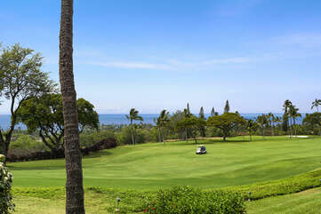 View of the 17th Hole of the Kona Country Club Golf Course