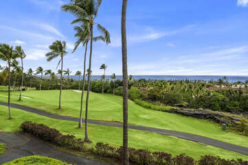 Amazing Pacific Ocean views from the Lanai at Country Club Villas 338