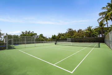 Tennis Courts Connected to the Complex