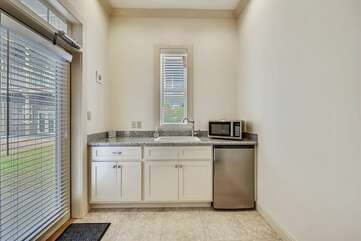 Lower level - kitchenette