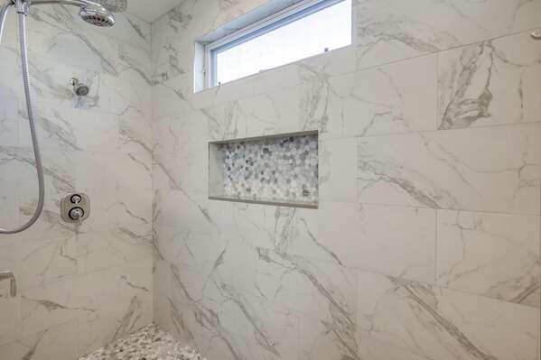 Master Walk-in Shower - First Floor