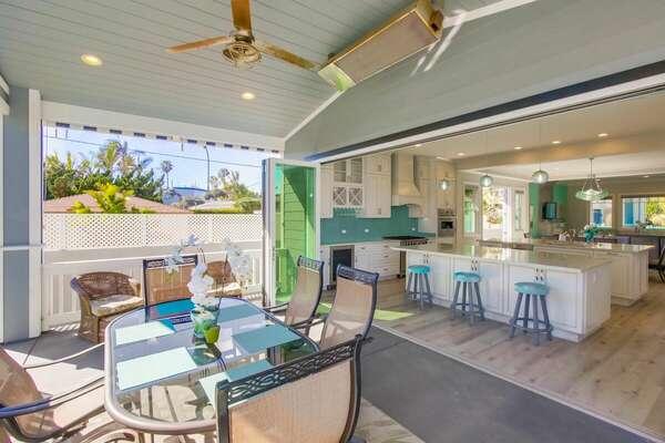 Seamless Indoor Outdoor Living!
