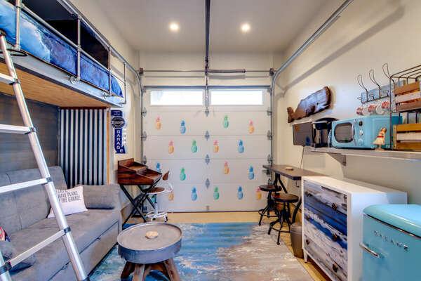 Detached Guest Suite with Full Loft Bed + Queen Sleeper