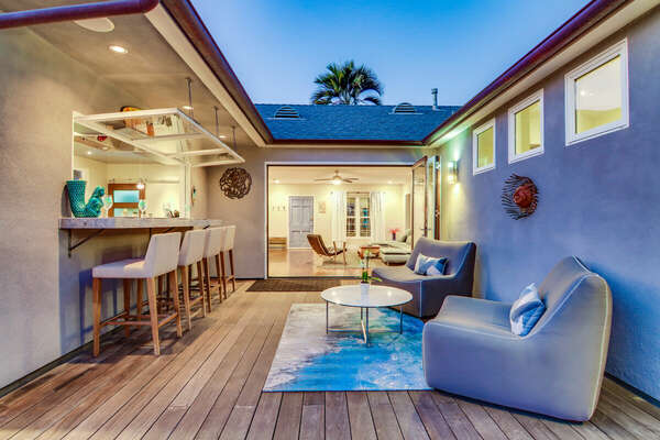 Outdoor Living and Bar