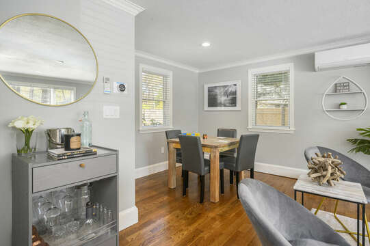 Mini Bar and game table - 44 Avalon Circle Osterville Cape Cod New England Vacation Rentals