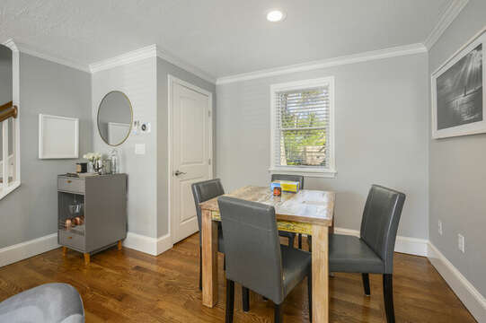 Game table off living room - 44 Avalon Circle Osterville Cape Cod New England Vacation Rentals
