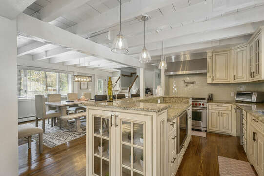 Large open kitchen with all appliances - 44 Avalon Circle Osterville Cape Cod New England Vacation Rentals