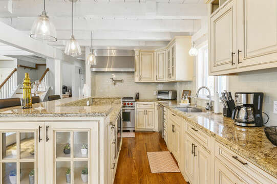 Large kitchen - 44 Avalon Circle Osterville Cape Cod New England Vacation Rentals