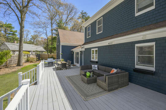 Multi level deck - 44 Avalon Circle Osterville Cape Cod New England Vacation Rentals