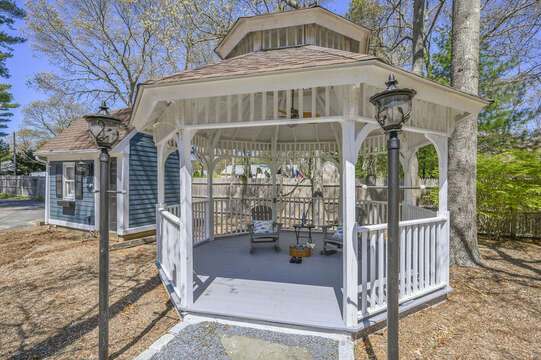 Gazebo - 44 Avalon Circle Osterville Cape Cod New England Vacation Rentals