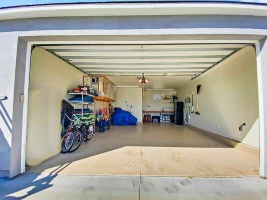 Garage Interior with Beach Items