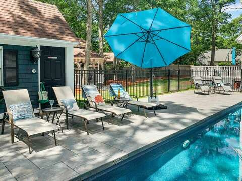 New pool with outside furniture - ready for fun!! - 44 Avalon Circle Osterville Cape Cod New England Vacation Rentals