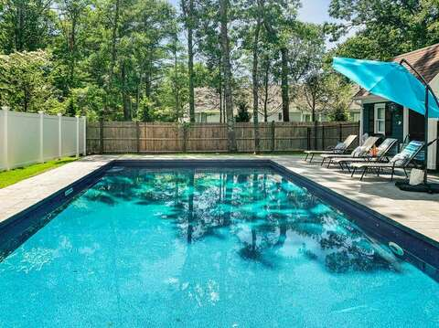 Brand New Swimming Pool for you to Enjoy.  44 Avalon Circle Osterville Cape Cod New England Vacation Rentals