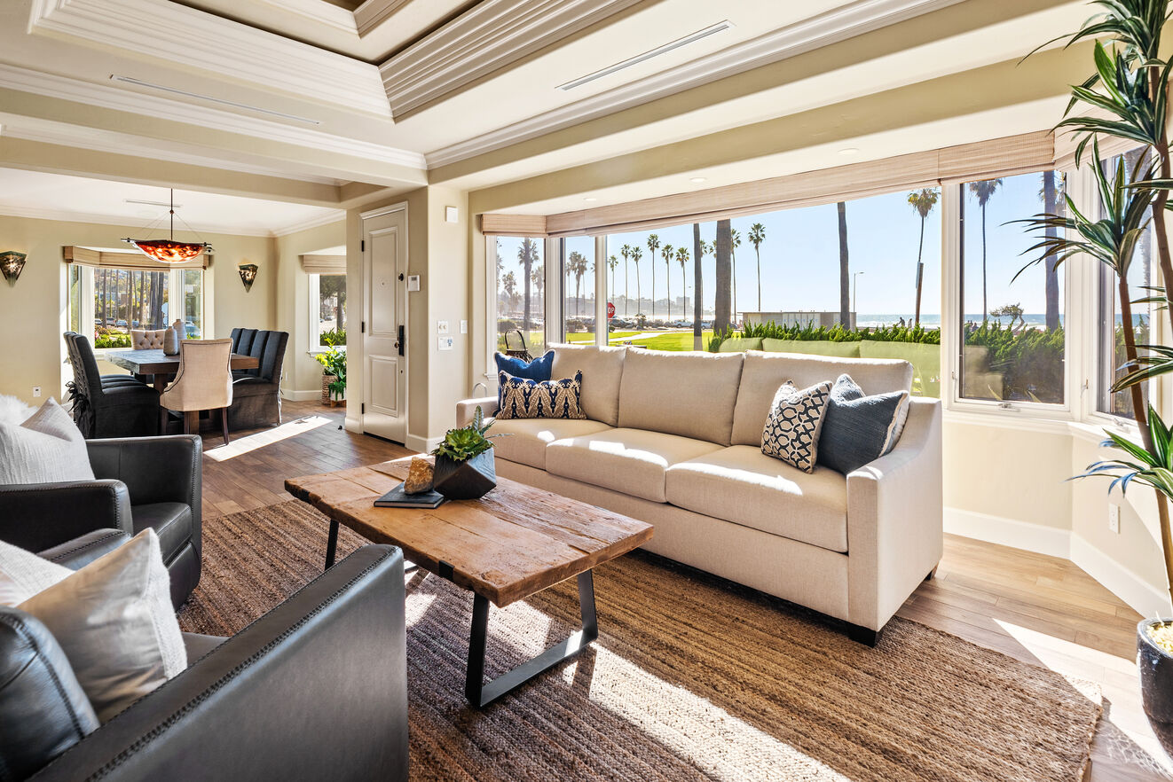 Enjoy the open design of the great room and connected dining room.