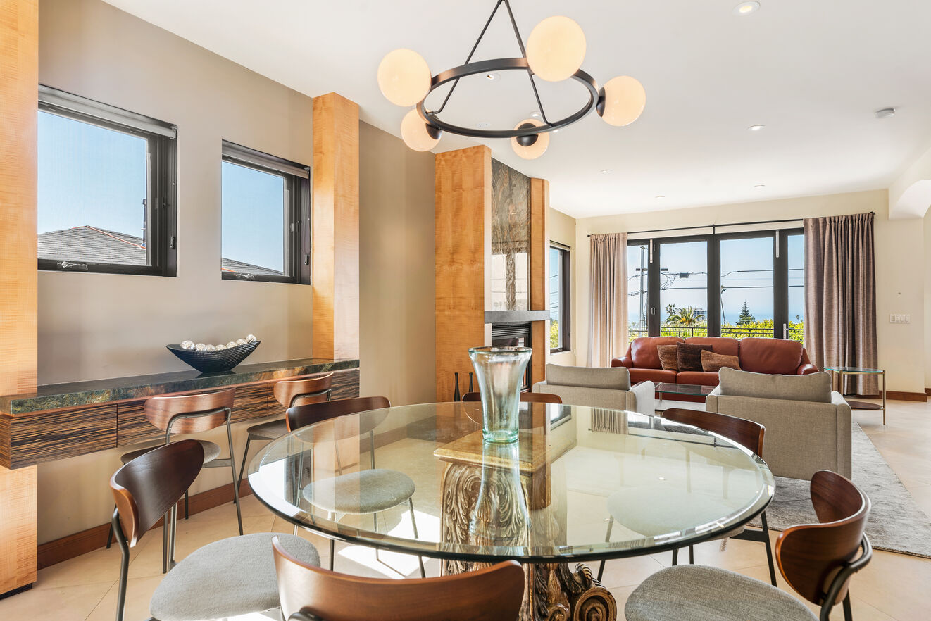 Dining table seating 8