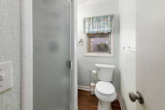 Master Bathroom with a walk-in shower