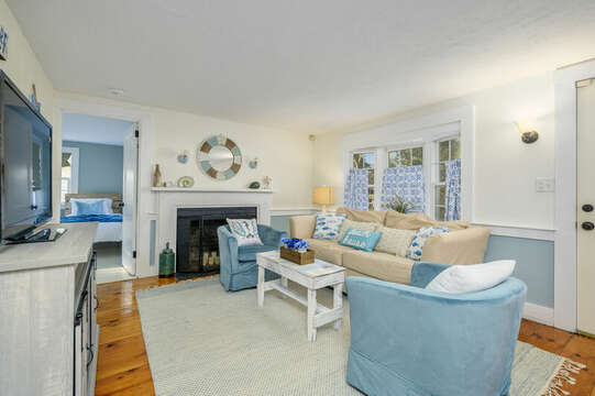 So cozy for hanging out.  85 Pond Street South Yarmouth Cape Cod - New England Vacation Rentals
