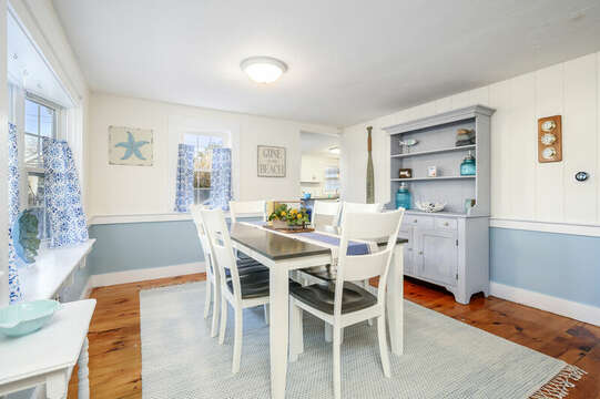 Coastal blue hues throughout the home are so soothing - 85 Pond Street South Yarmouth Cape Cod - New England Vacation Rentals