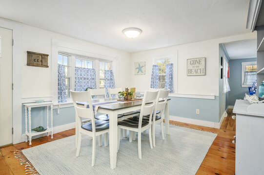 Dining room - 85 Pond Street South Yarmouth Cape Cod - New England Vacation Rentals