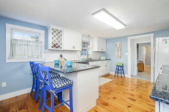 Quaint kitchen - 85 Pond Street South Yarmouth Cape Cod - New England Vacation Rentals